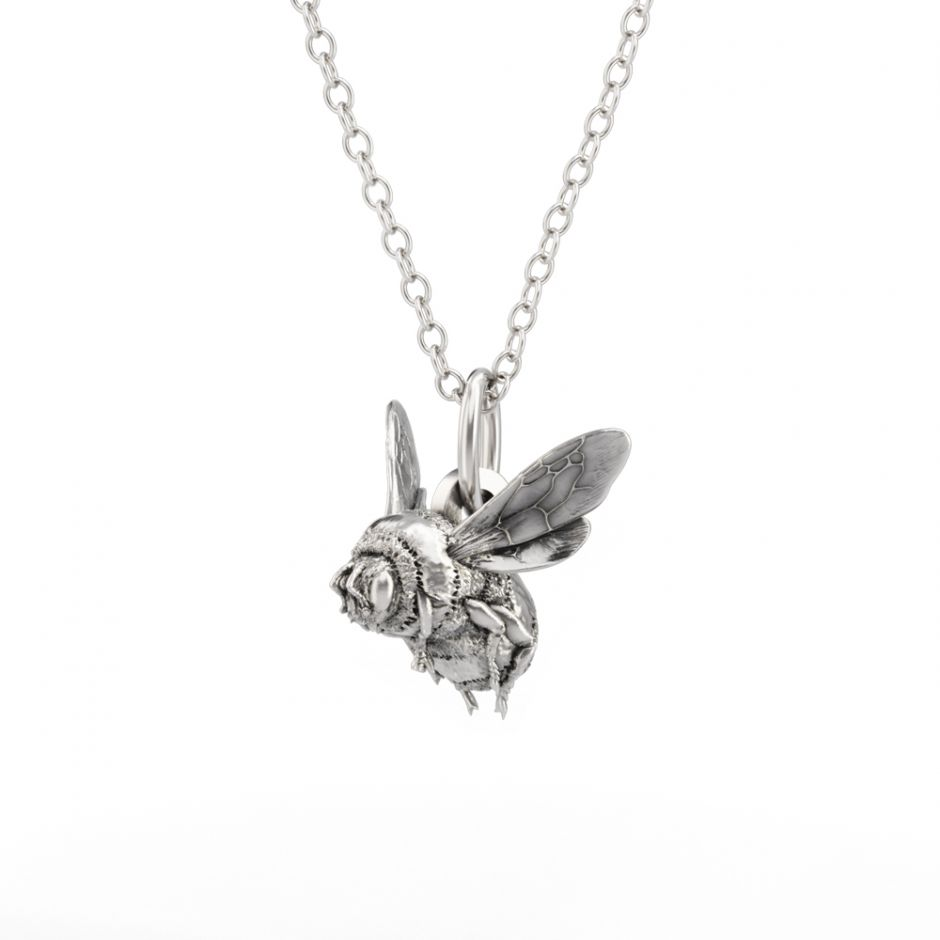 Watership Down - Sterling Silver Bee Necklace Set