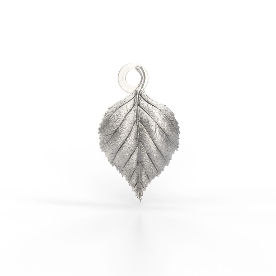Watership Down - Sterling Silver Birch Leaf Charm
