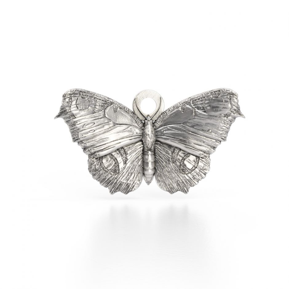 Watership Down - Sterling Silver Butterfly Charm