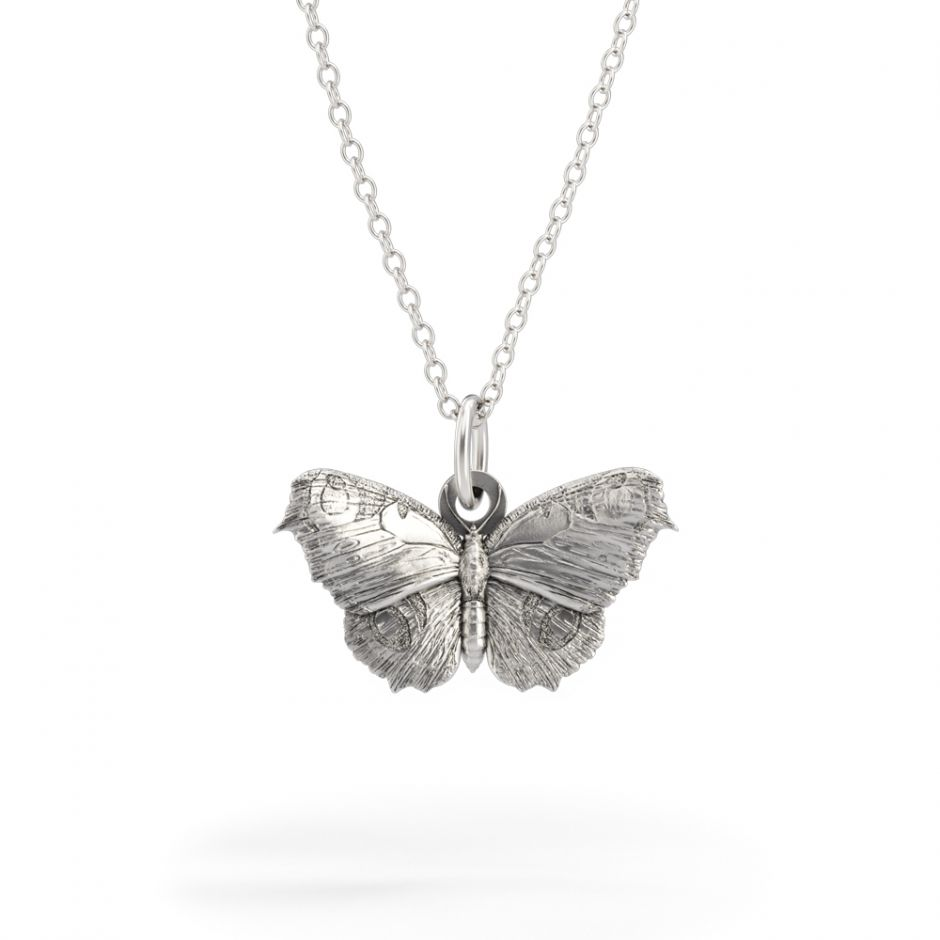 Watership Down - Sterling Silver Butterfly Necklace Set