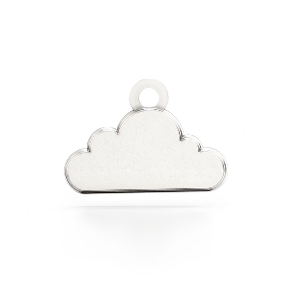 Shaun The Sheep - Sterling Silver Cloud Charm