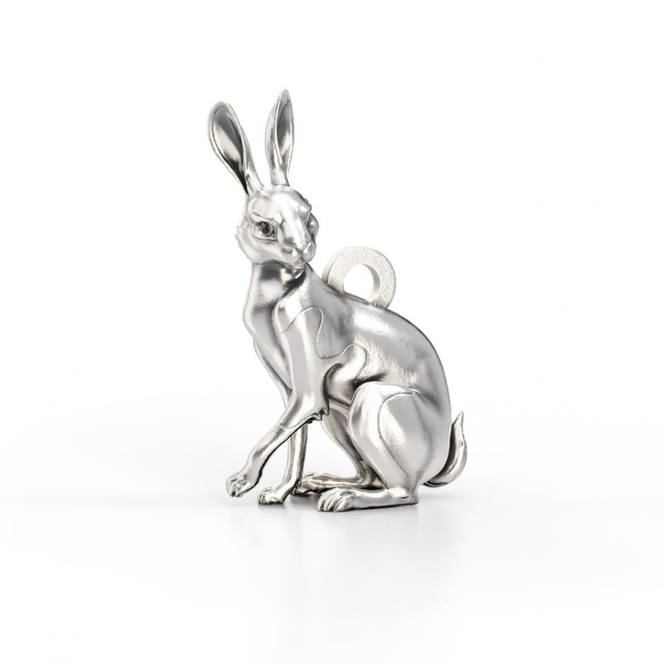Watership Down - Sterling Silver Clover The Rabbit Charm
