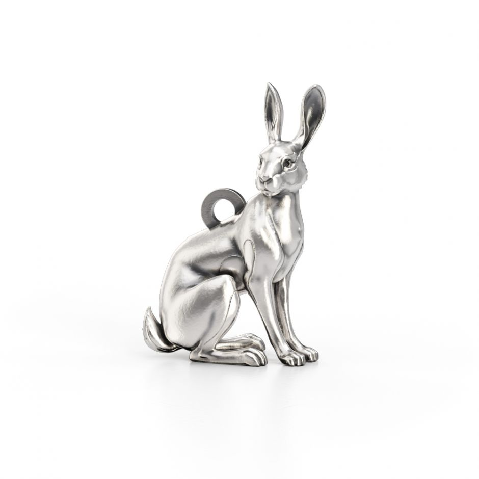 Watership Down - Sterling Silver Hazel The Rabbit Charm
