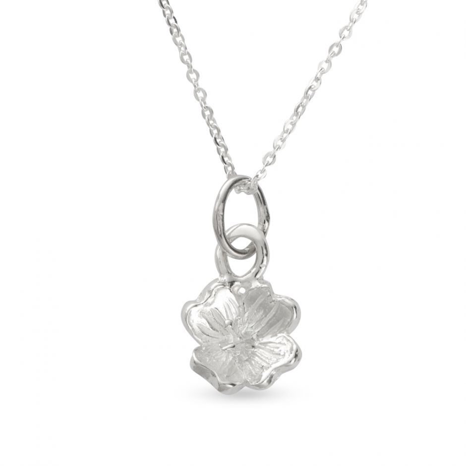Licensed to Charm - Sterling Silver Primrose Necklace Set