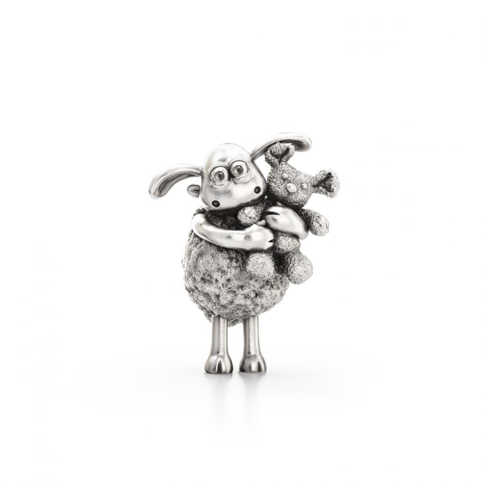 Shaun The Sheep - Sterling Silver Timmy & Teddy Bear Charm