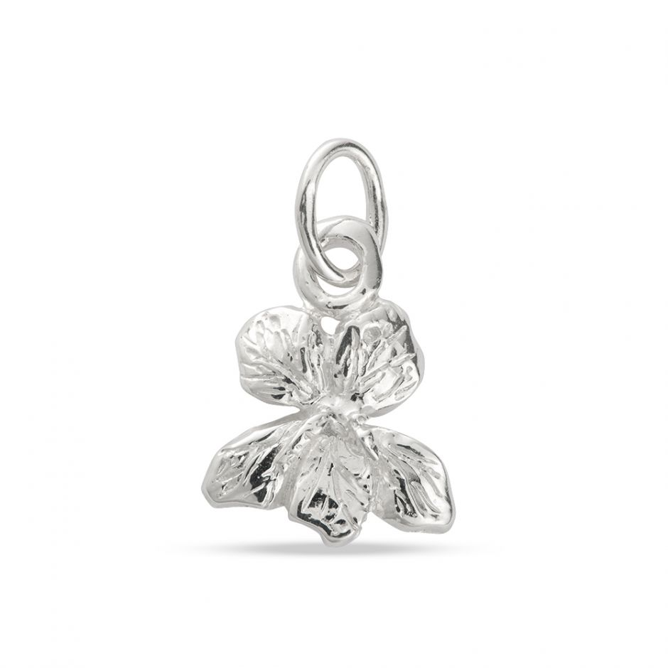 Licensed to Charm - Sterling Silver Violet Charm