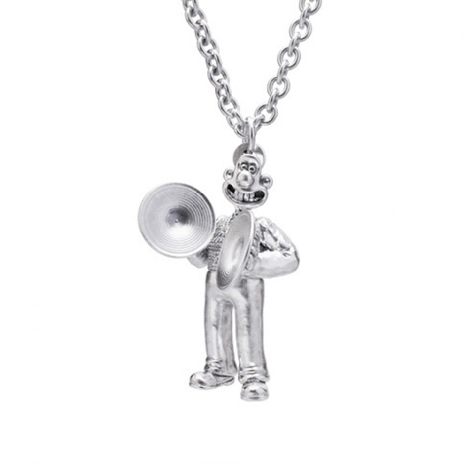 Sterling Silver Musical Marvels Wallace Necklace Set