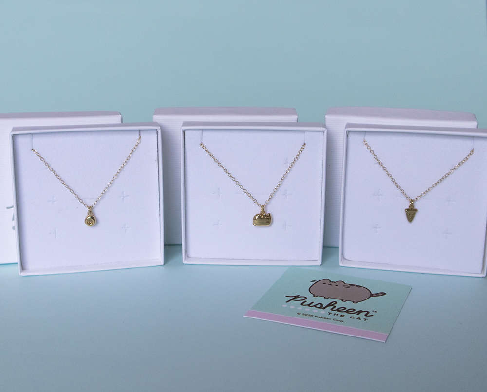 Say Hello to Our NEW Pusheen Gold Vermeil Jewellery Collection!