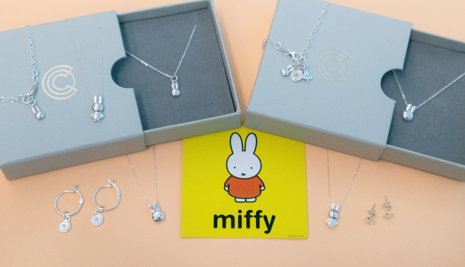 Licensed To Charm Miffy jewellery collection launch