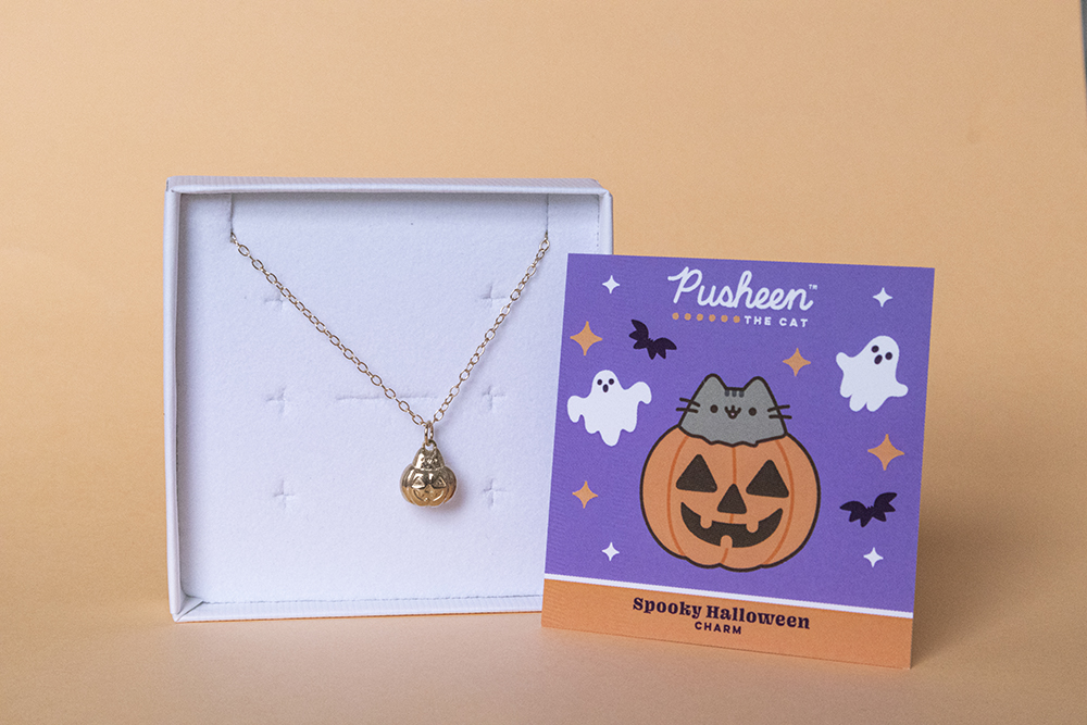 NEW Pusheen Pumpkin Jewellery by Licensed To Charm